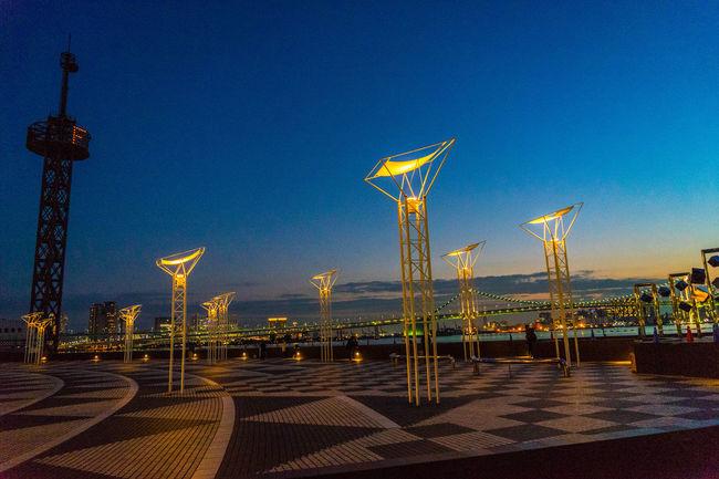 Harumi in Tokyo Harumifutou Nightphotography Night Photography Night Lights Landscape Landscape_Collection Landscape_photography Eye4photography  EyeEm Best Shots Seaside Seaside_collection