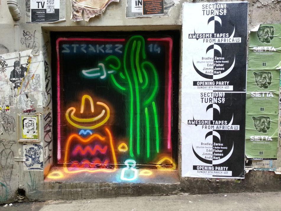 Straker Streetart Graffiti Hombre