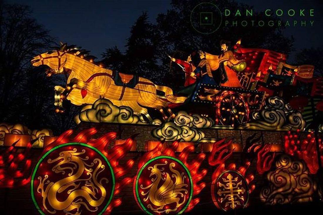 To War Longleatsafaripark Festivaloflight Chinese Lantern @longleatofficial