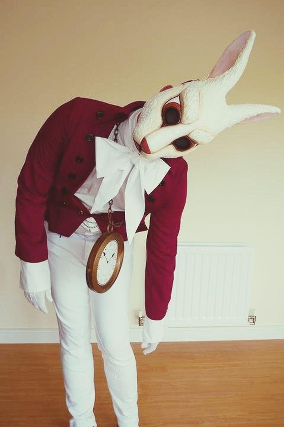 Rabbit Fancy Dress Whiterabbit Birthday Party 30thBirthday Alice In Wonderland This was for a 30th Birthday Party.