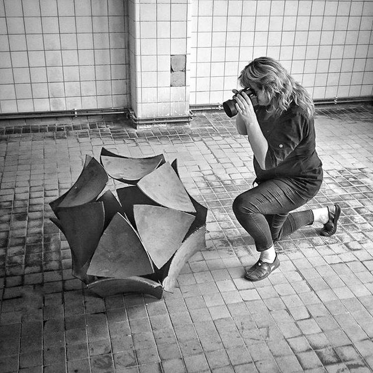 http://mayrau.omk.cz Blackandwhite Monochrome Monochromatic Human Abadoned Photographer Weekend Exhibition Mine ❤ Black And White