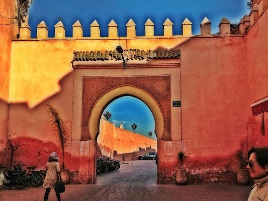 Medina in Marrakesh by Fabiana Abud