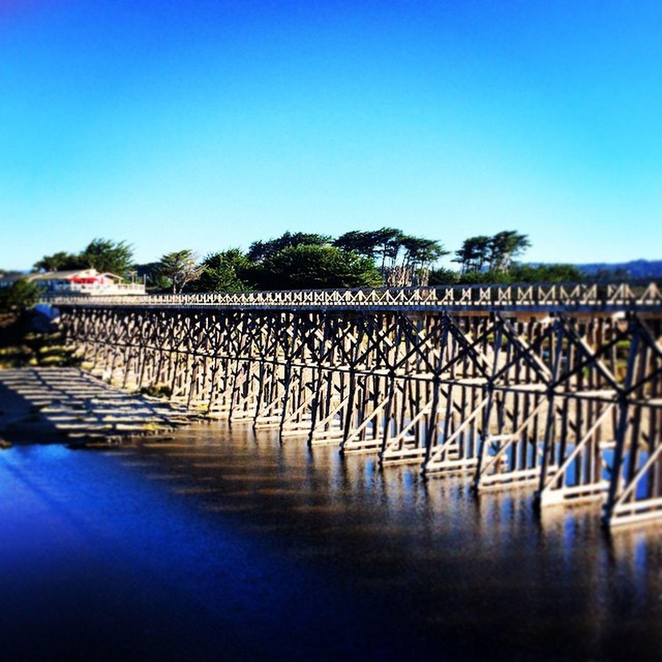 Fort Bragg bridge Fortbragg Glassbeach California California1 visitca bridge northcalifornia roadtrip