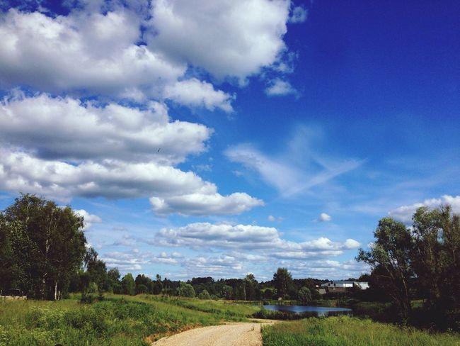 Sky Wow!!!! The Sky Is Very Beautiful :-) :-) :-) :-) Enjoying Life Relaxing