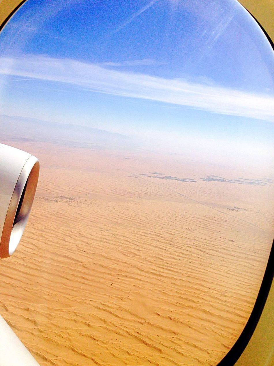 Deserts Around The World Dubai Emiratesairline Travel By Puk✈️ From An Airplane Window From My Point Of View Eye Em Around The World Eye4photography  On The Plane ✈ Traveling