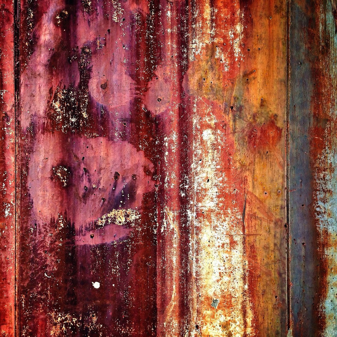 Does anyone else see a three eared devil rabbit? I hope so. Eye4photography  Abstract Textures And Surfaces Colors IPhoneography