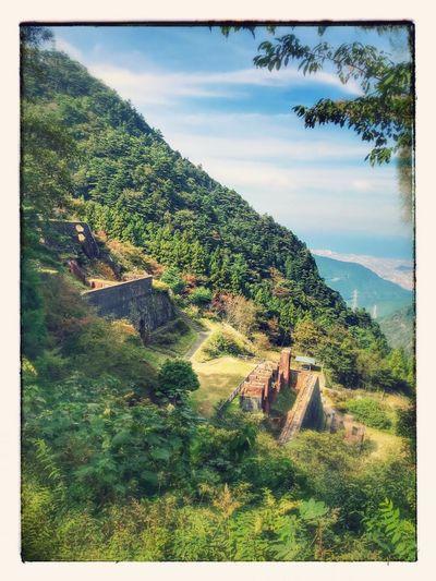 愛媛 日本 Japan 日本のマチュピチュ Beauty In Nature No People Tree Nature Sky Travel Day Mountain History 別子銅山
