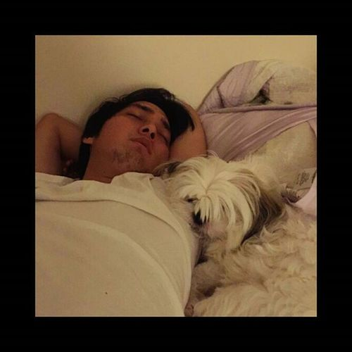 I love spending Sunday's sleeping in with my baby girl, Sofie... Bestpals Princess Bestie  Whitegirl  Nojudgement Paws Furbaby cue in soothing music: we've only just begun Photo by @macchadiary
