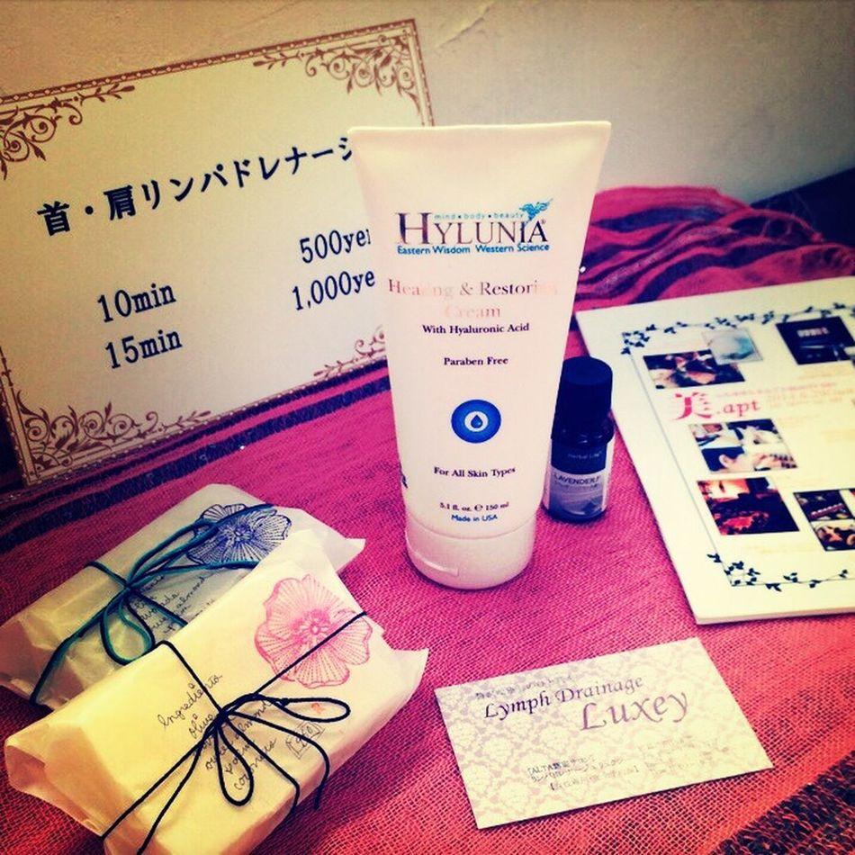 Organic Cosmetics Lymphdrainage Event