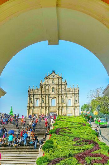 20160107 Macau January 2016 Perfect Wonderful Day So Warm Fantastic 😊😊😊
