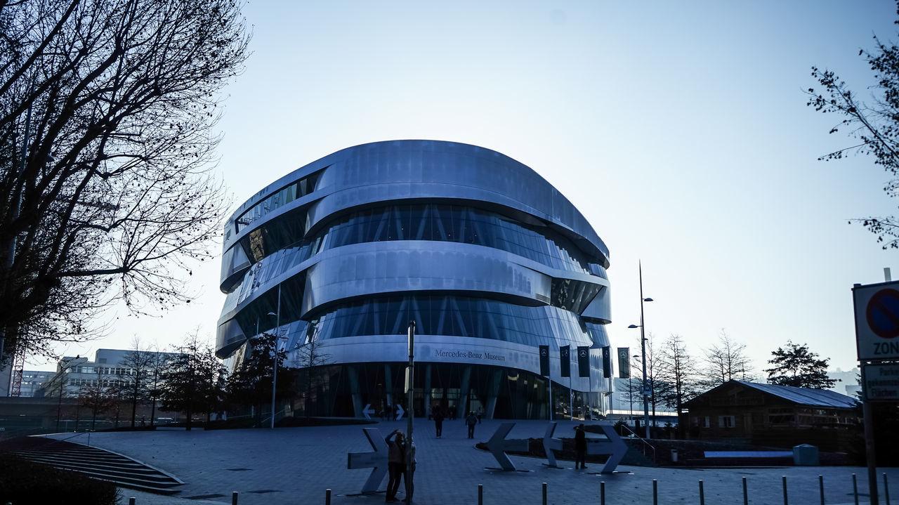 mecedes benz welt Architecture City Clear Sky Façade Mecedes Benz Welt MecedesBenz Outdoors Un Studio The Architect - 2017 EyeEm Awards