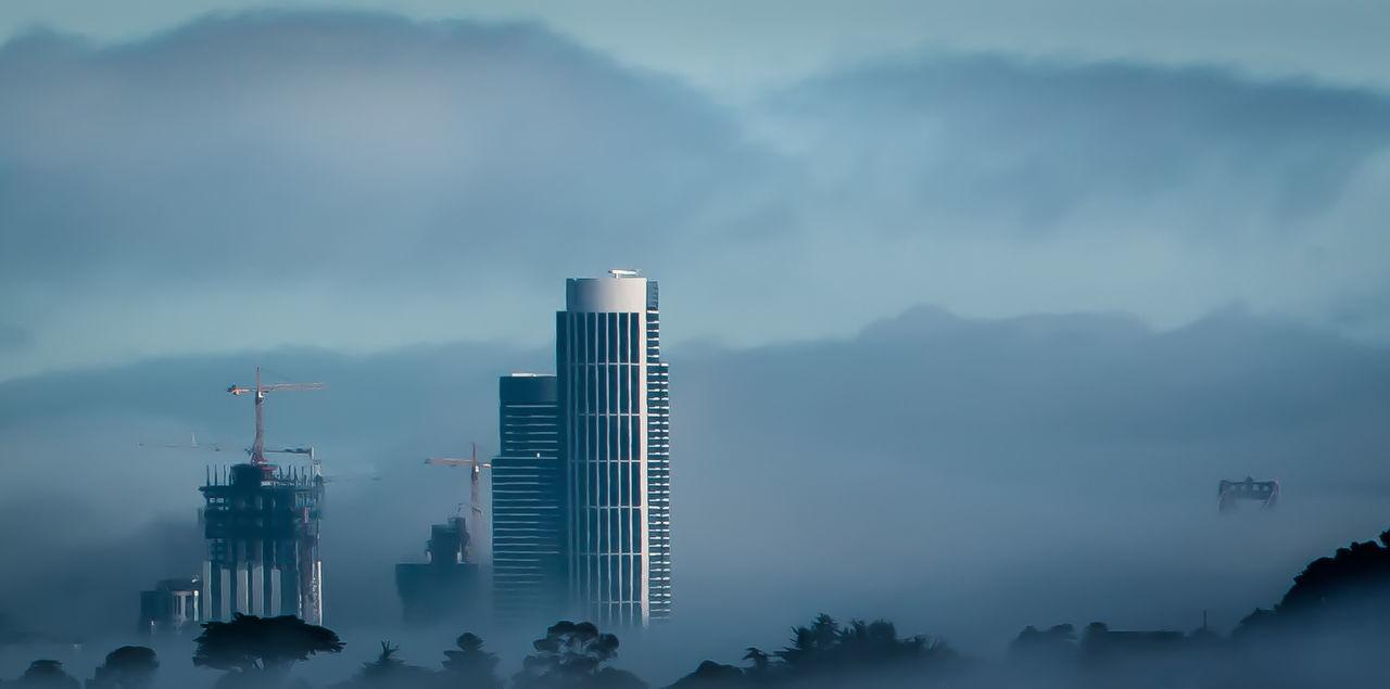 Architecture Built Structure City, Cityscape Highrise Office San Francisco San Francisco Bay