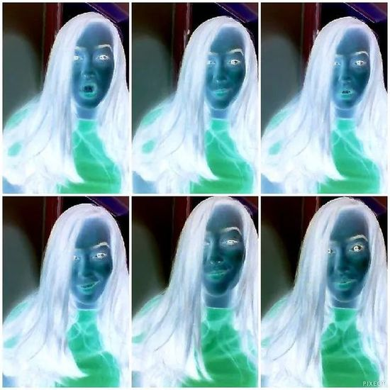 Let's be alien 👽 Filter Webcamtoy Latepost