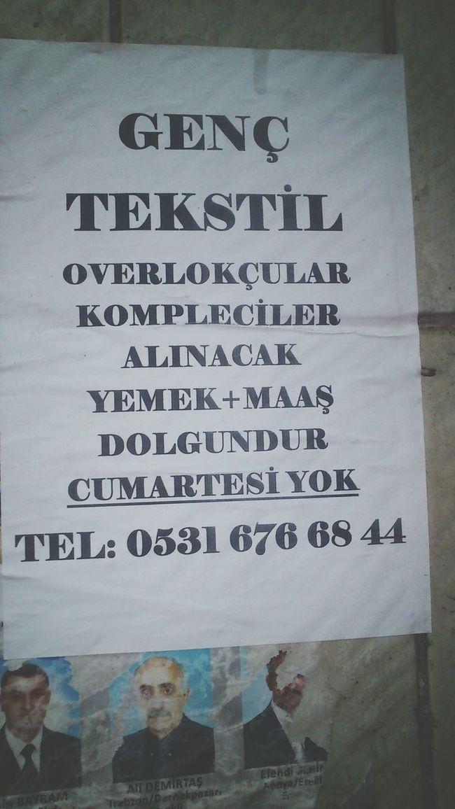 Is Tekstil Hi Zeytinburnu Yeşiltepe