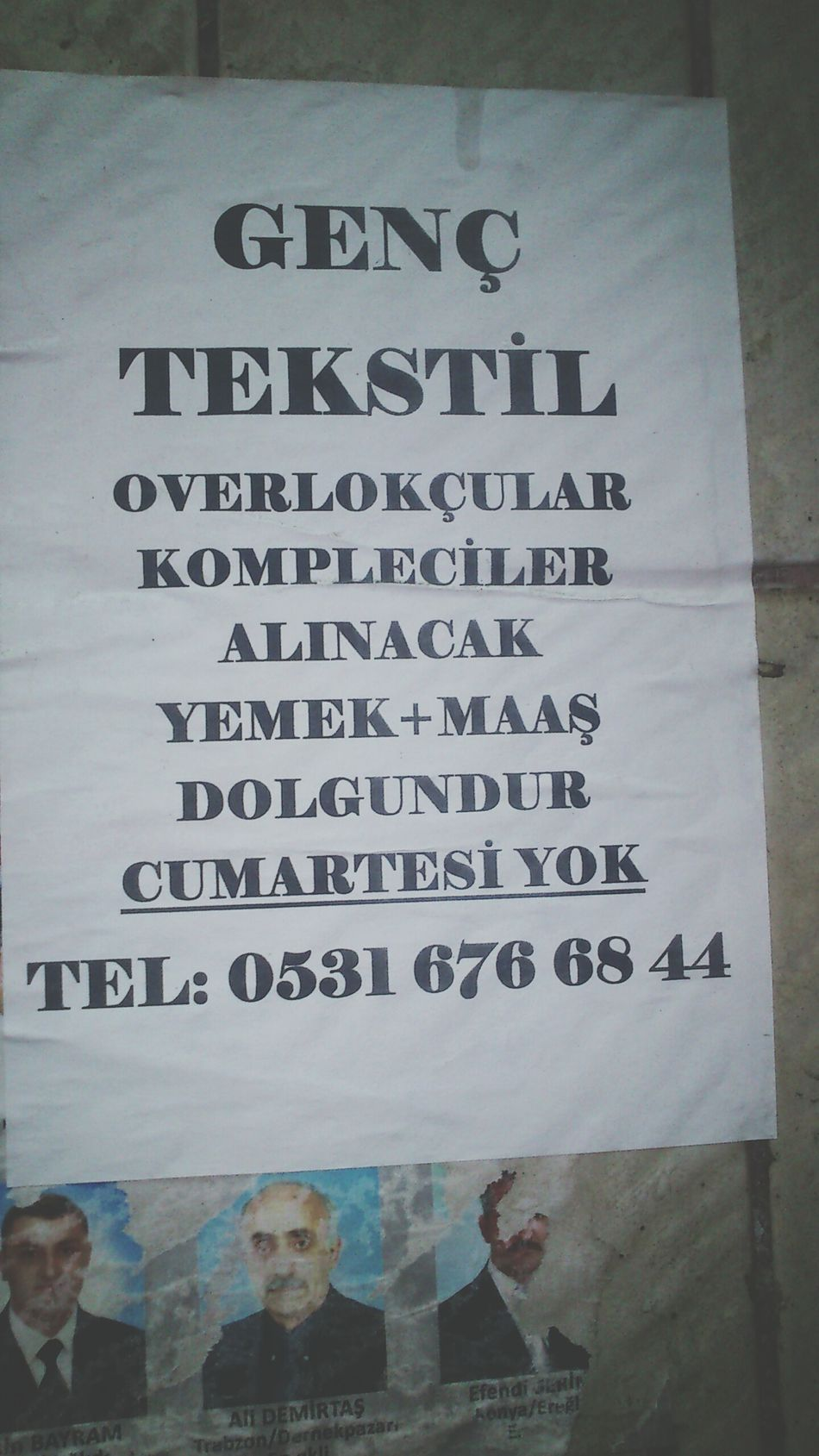 Is Tekstil Hi Zeytinburnu Yeşiltepe