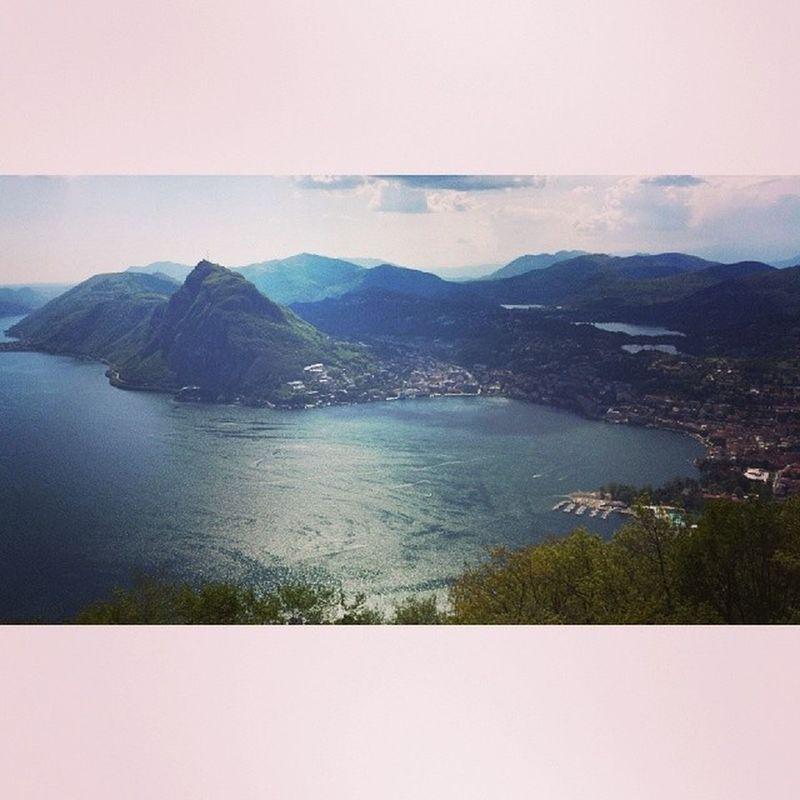 Lagodilugano Lakelugano Lugano Ticino switzerland spring klasselager wandere hashtag soppersach