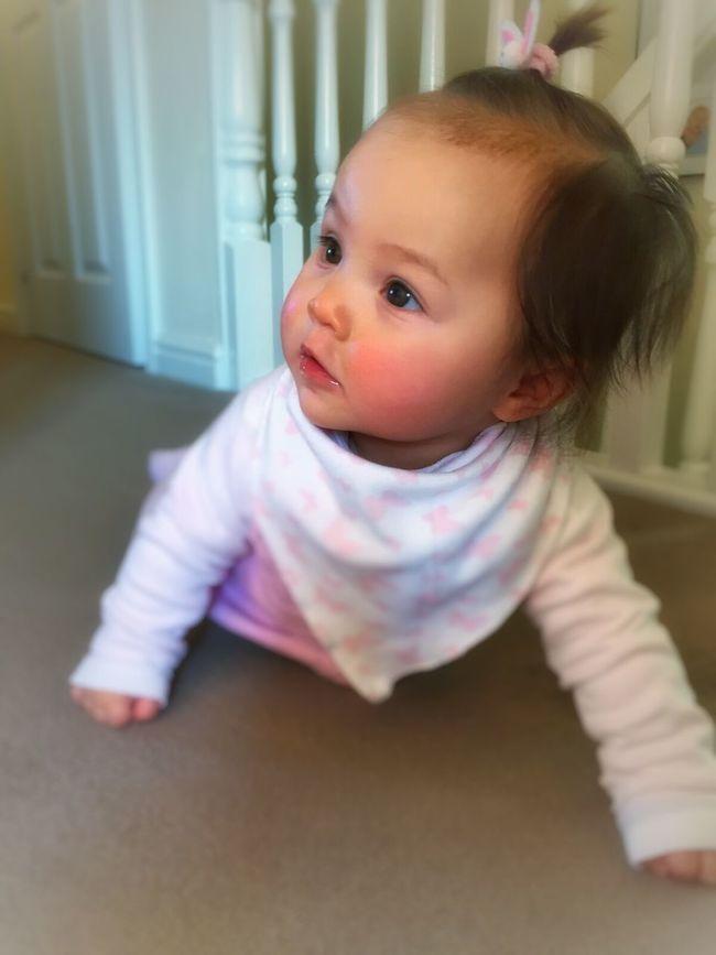 My niece again Beautiful Family Glamglow Baby Chubbycheeks