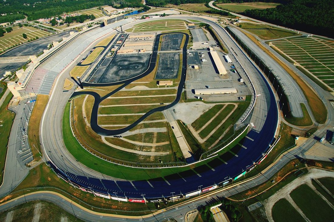 Raceway Aerial View Road High Angle View Outdoors Architecture No People Day Race Racetrack ATL Atlanta Motor Speedway Atlanta Atlanta Ga Racing Race Track NASCAR Aerial Shot Aerial Photography Aerial Aerialphotography Aerialview Aerial Shots Driving Fun Infield