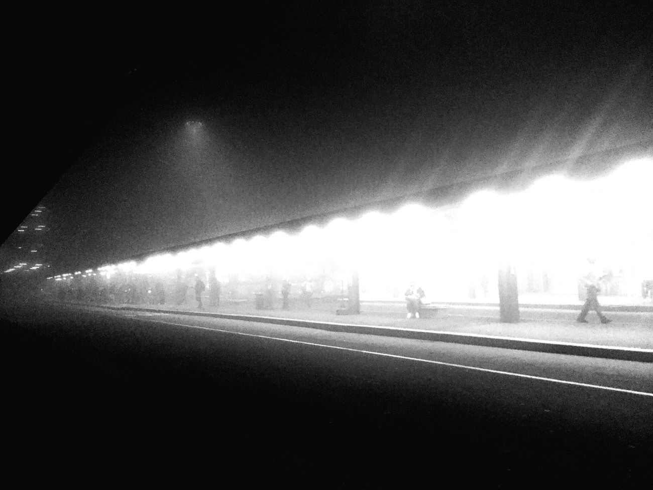 Malinchonic Landscape Foggy Night The Journey Dreamscapes & Memories Light Urban Geometry Blackandwhite The Places I've Been Today Light At The End Of The Tunnel At The End Of The Day
