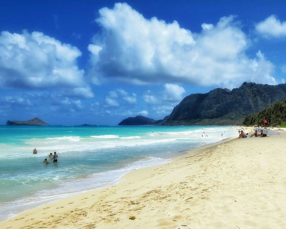 Beautiful stock photos of hawaii, Beach, Cloud, Coastline, Day