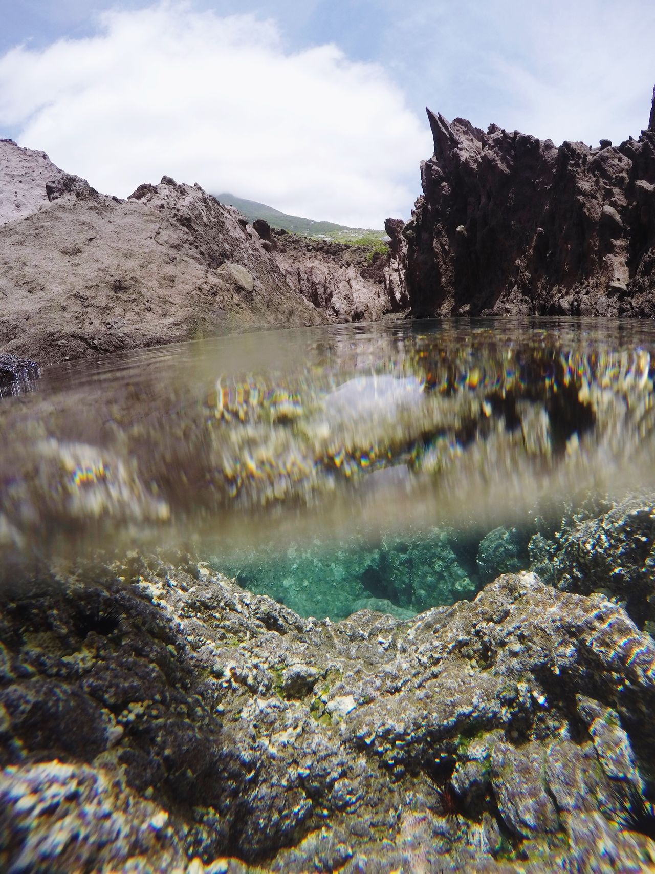 The Great Outdoors - 2017 EyeEm Awards volcanic tide pools in Saba Scenics Mountain Nature Tranquility Water Physical Geography Volcanic  EyeEmNewHere