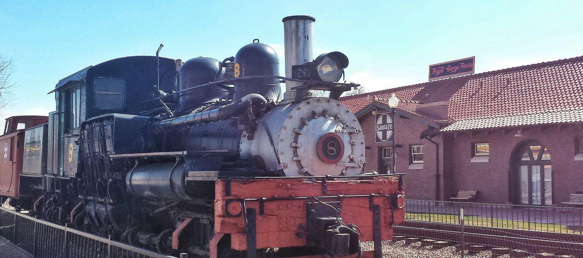 Classic Train Steam Engine WILD WILD WEST