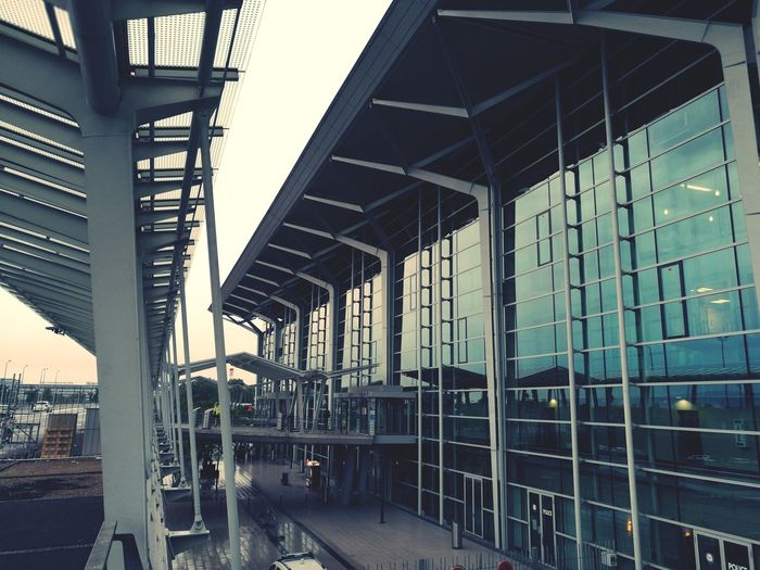 EuroAirport, building, airport, euroairport, Silhouette Building, Basel, Muhlouse, Steel Structure