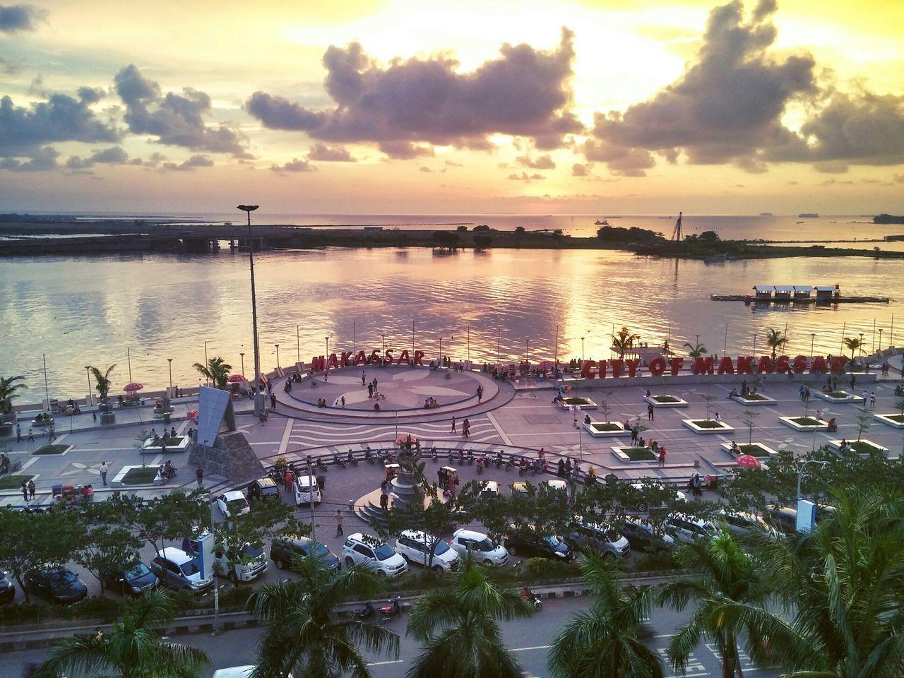 Sunset at Losari Beach, Landscape, Urban Landscape, LG G3 Photography, LG G3