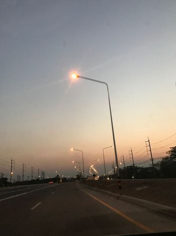 Chiang Mai | Thailand Smog In The Sky Air Pollution Road Transportation Street Light Sky Car Highway Sun No People Land Vehicle Outdoors Day
