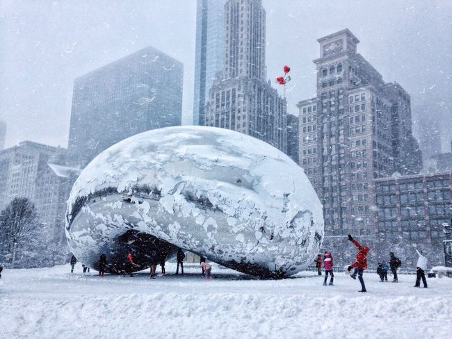 It's Cold Outside Chicago Beangames