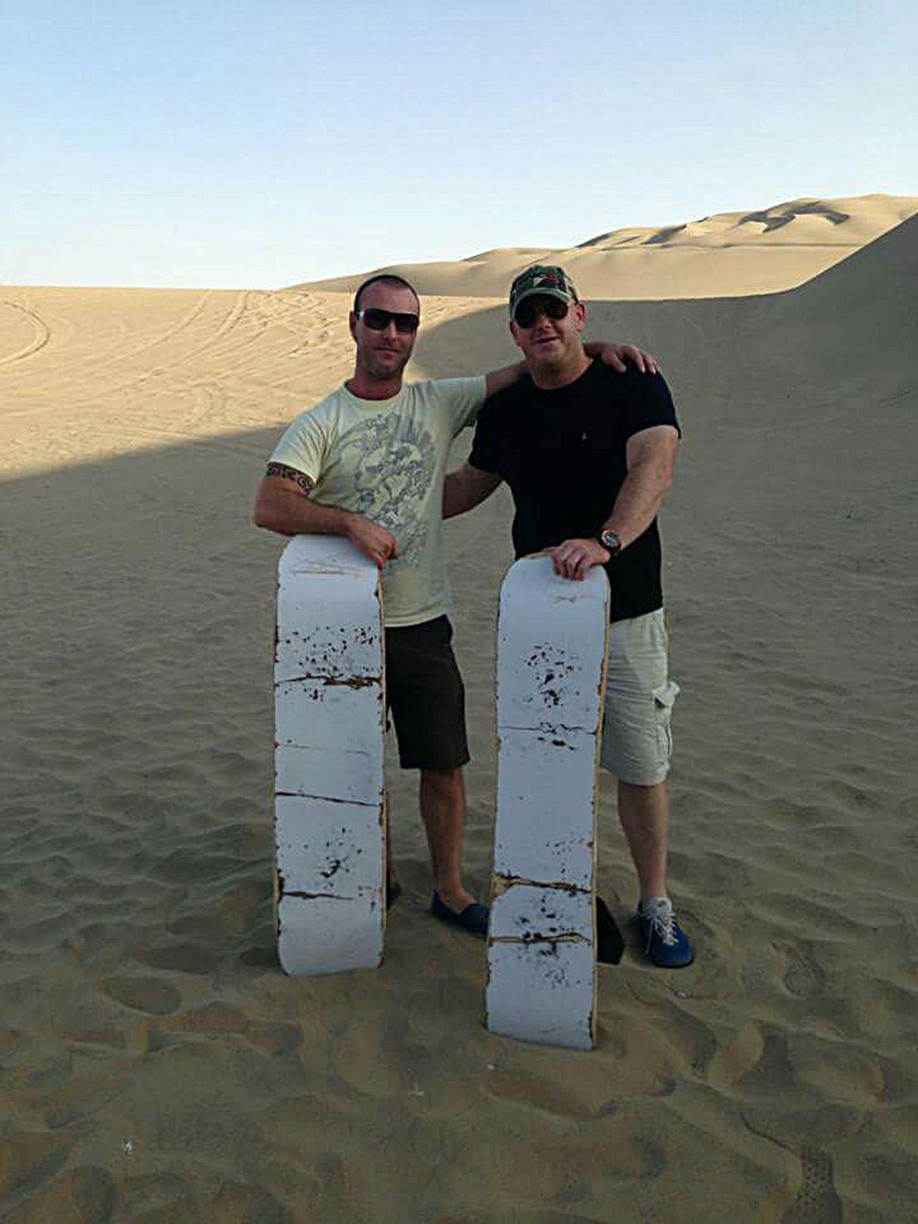 Sandboarding Peru Traveling ICA DESERT