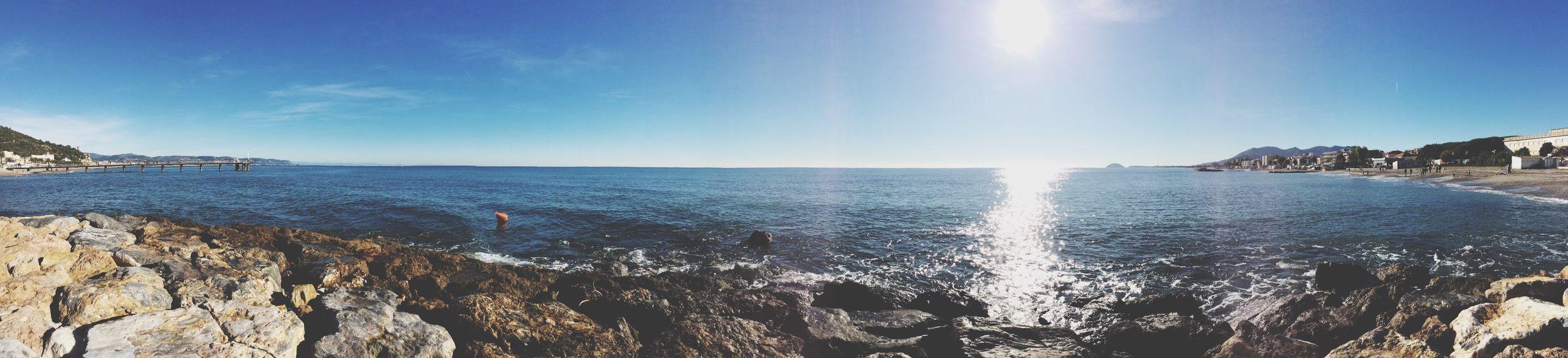 Taking Photos Sea Sunny Day sea and sky