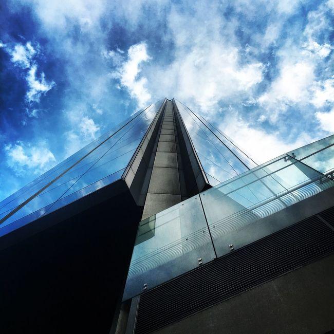 London Architecture City Reflection Sky Clouds Sky Scraper September