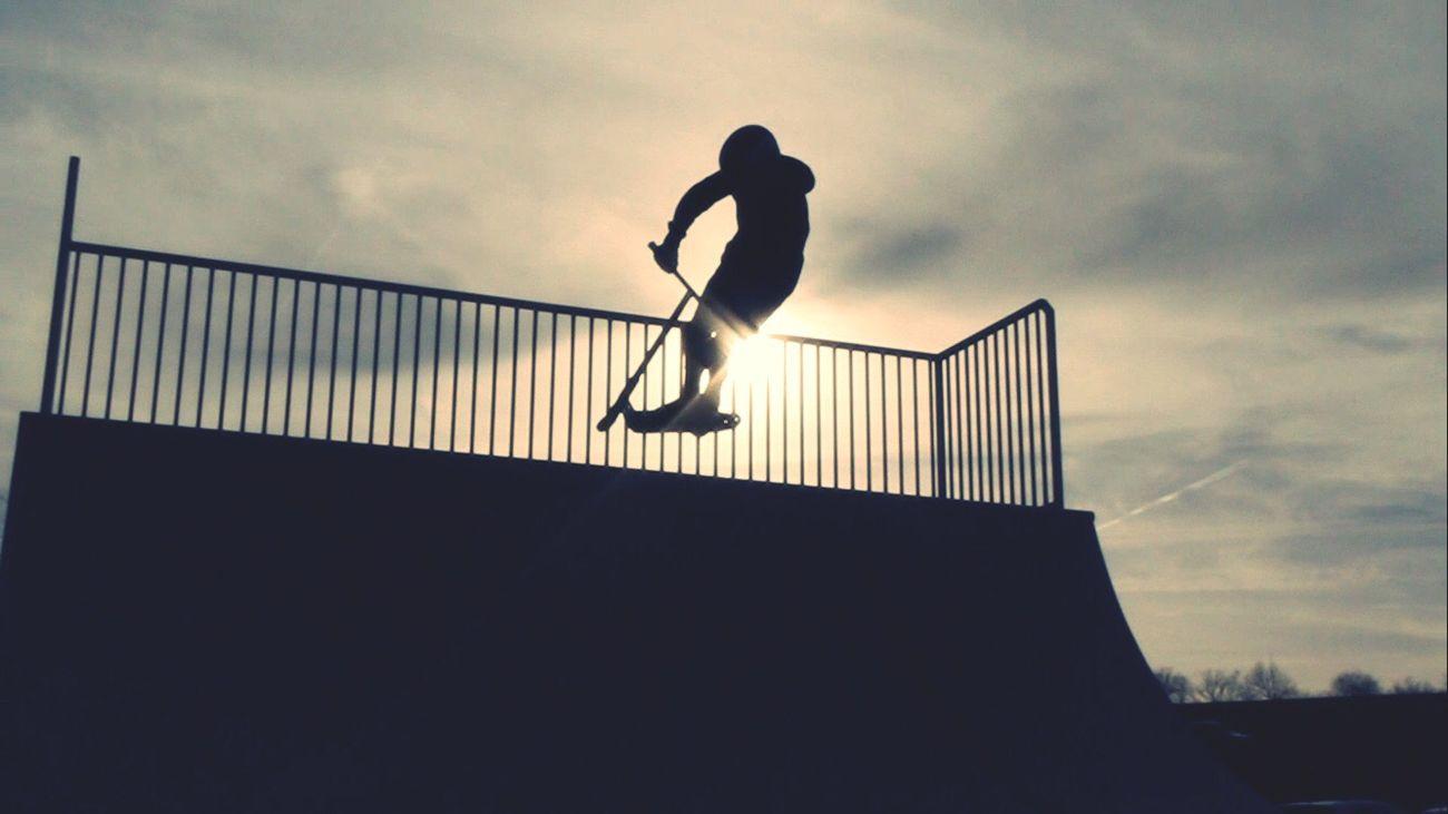 at Skatepark Kirchberg😻🔥 Scooter First Eyeem Photo