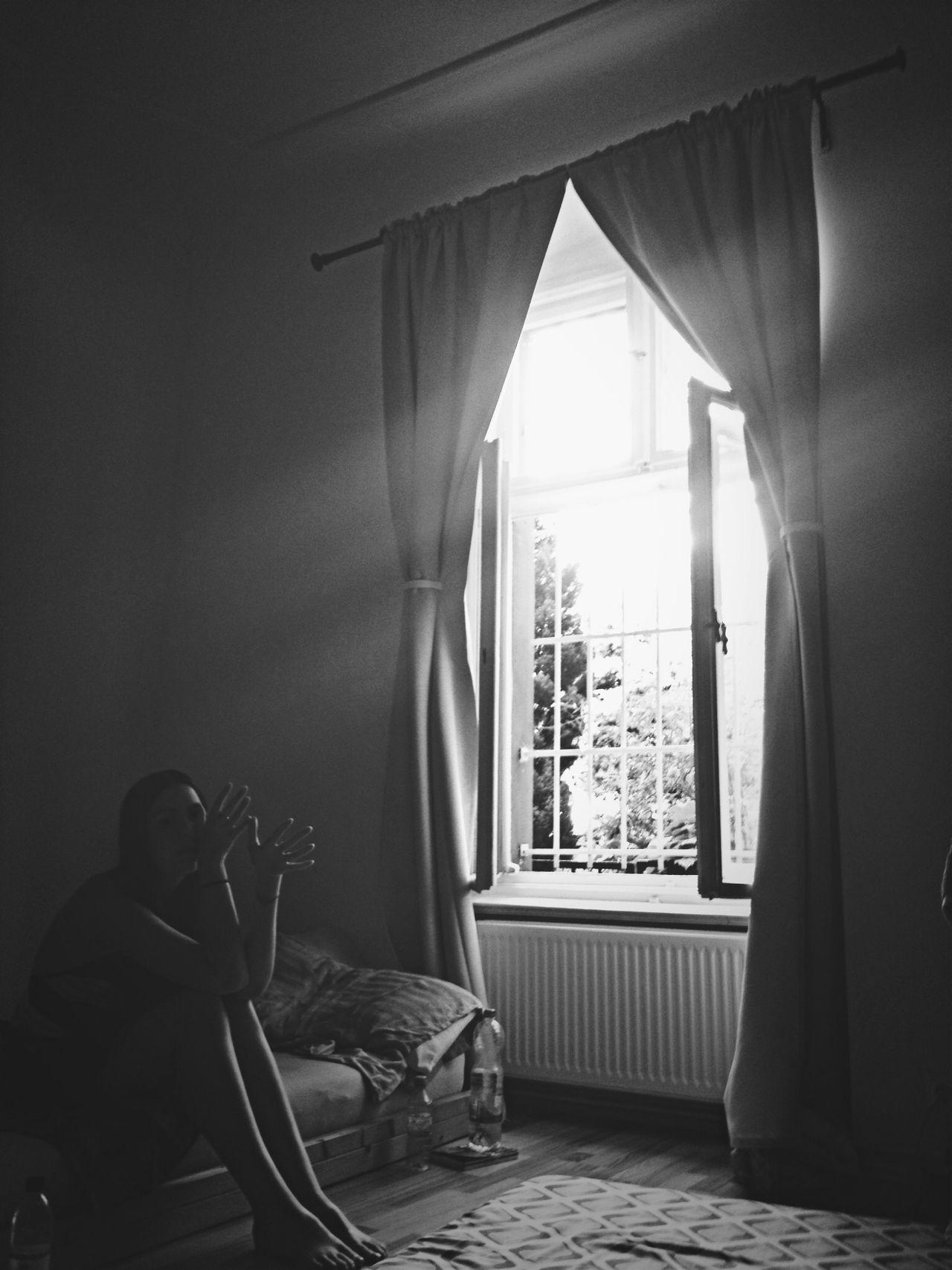 The Portraitist - 2014 EyeEm Awards Window Afternoon Garden