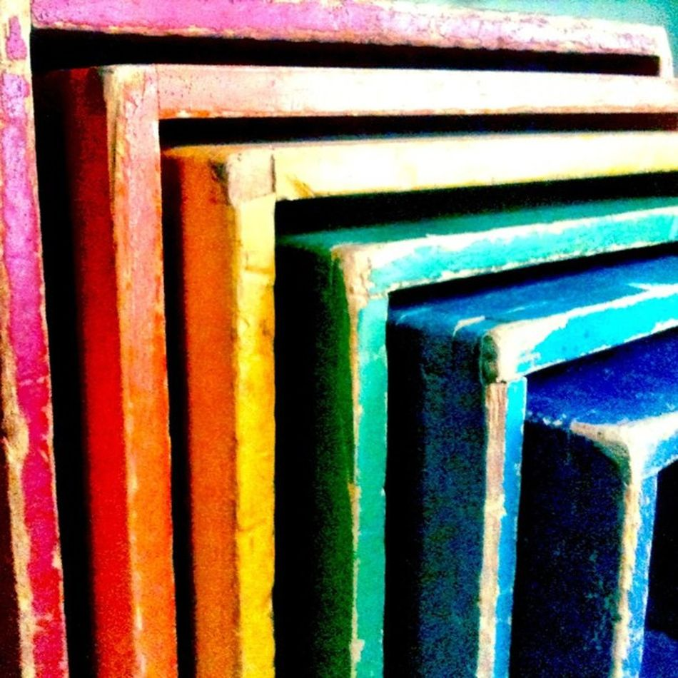 Used to play with these old boxes as a kid and they were old THEN :) Teg IPhoneography Toy Vintage Rainbow Color LINE Jj  Jj_forum_0264