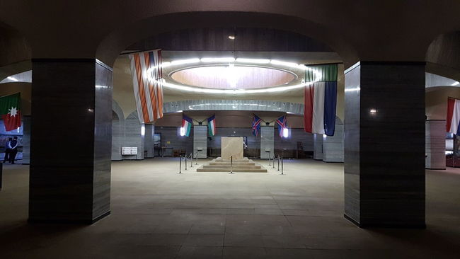 Indoors  Illuminated Ceiling Lighting Equipment Architecture Flooring Built Structure Hanging Architectural Feature In A Row Entrance Retail  Arch Diminishing Perspective Modern Day The Way Forward Lit Architectural Column From Where I Stand Voortrekker Monument Pretoria Tshwane Cenotaph