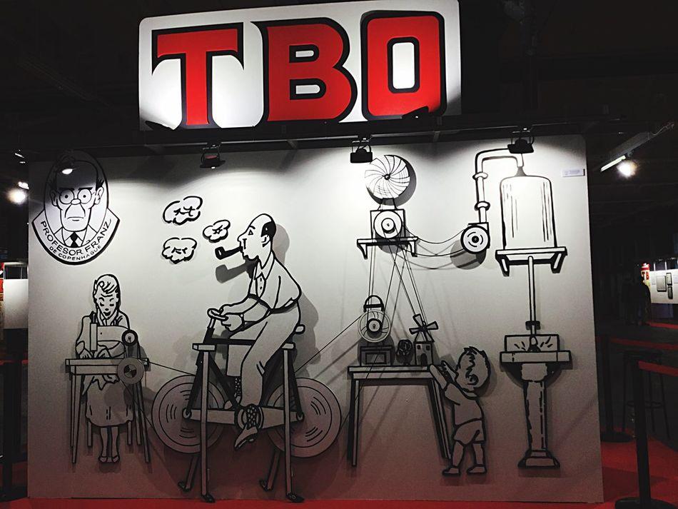 Comic Barcelona Salon Del Comic TBO