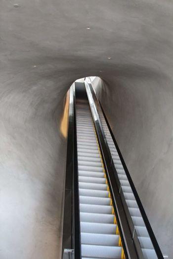 The Broad, Los Angeles, California Architecture Architecture_collection Art Gallery California DowntownLA Escalator Interior La Los Angeles, California Modern Modern Architecture Museum The Broad