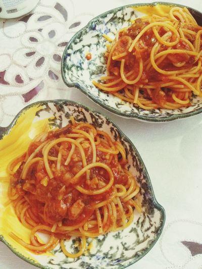 Lunch Spagetti 쵸비의 스파게티'
