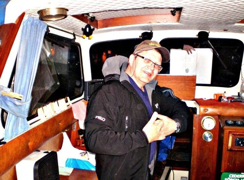 Going Sailing Captain Hasse