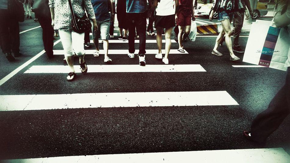On The Road Taking Photos Taipei Walking Around Streetphotography People Photography Walking City Life