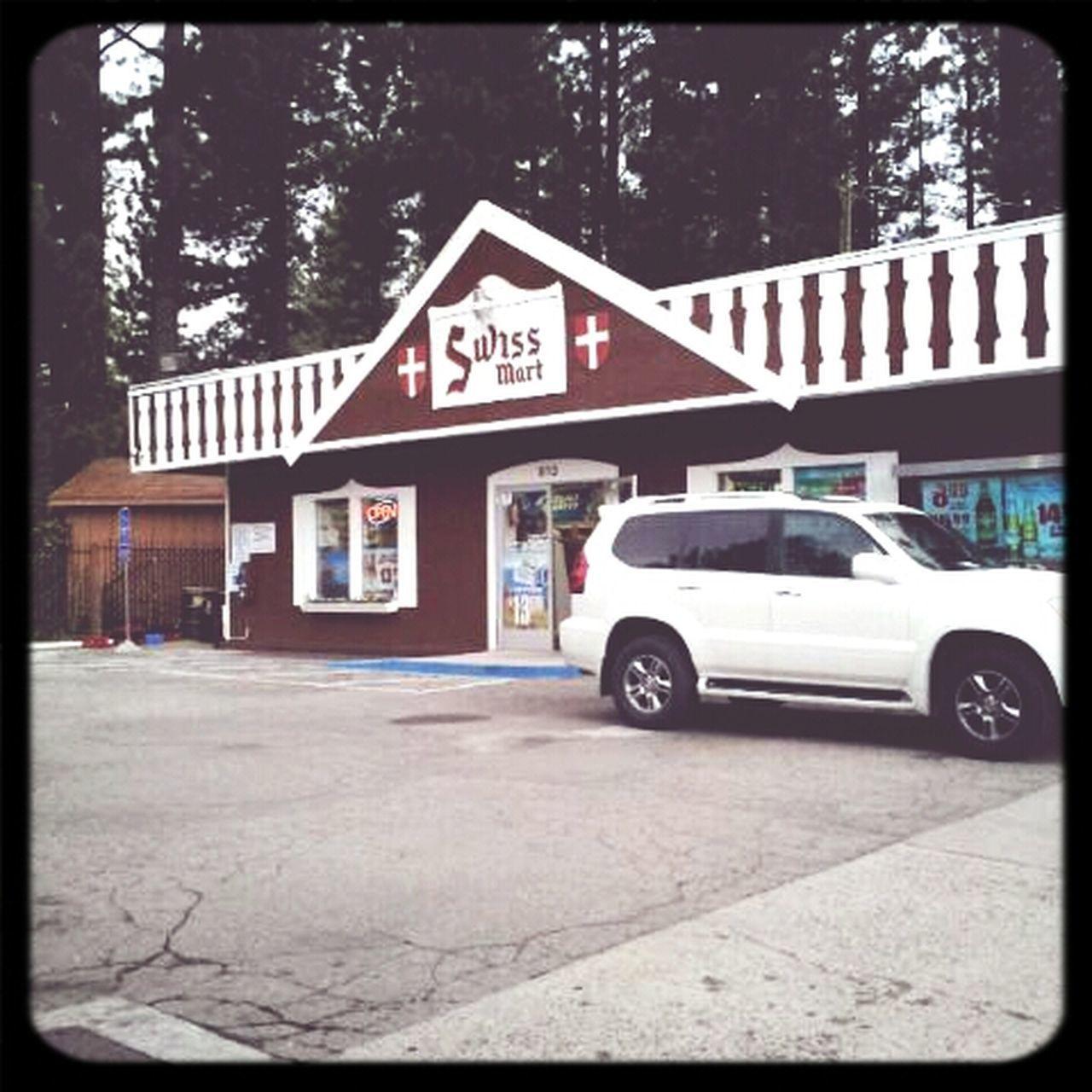 Refuel time. Driving Gas Station Road Trip Lake Tahoe