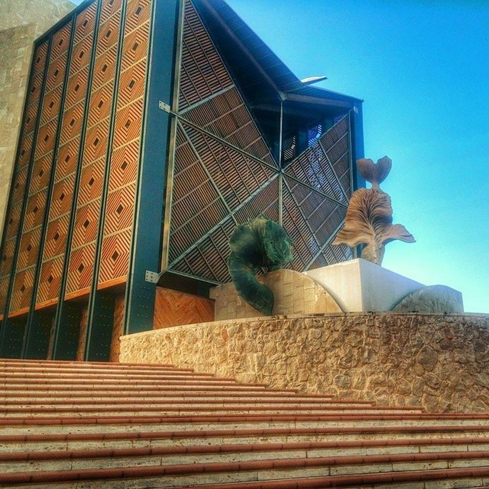 Entrada del Auditorio Alfredokraus Lascanteras