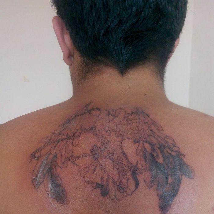 Kipa Dovme Tatoo Izmir instamod eagle kartal