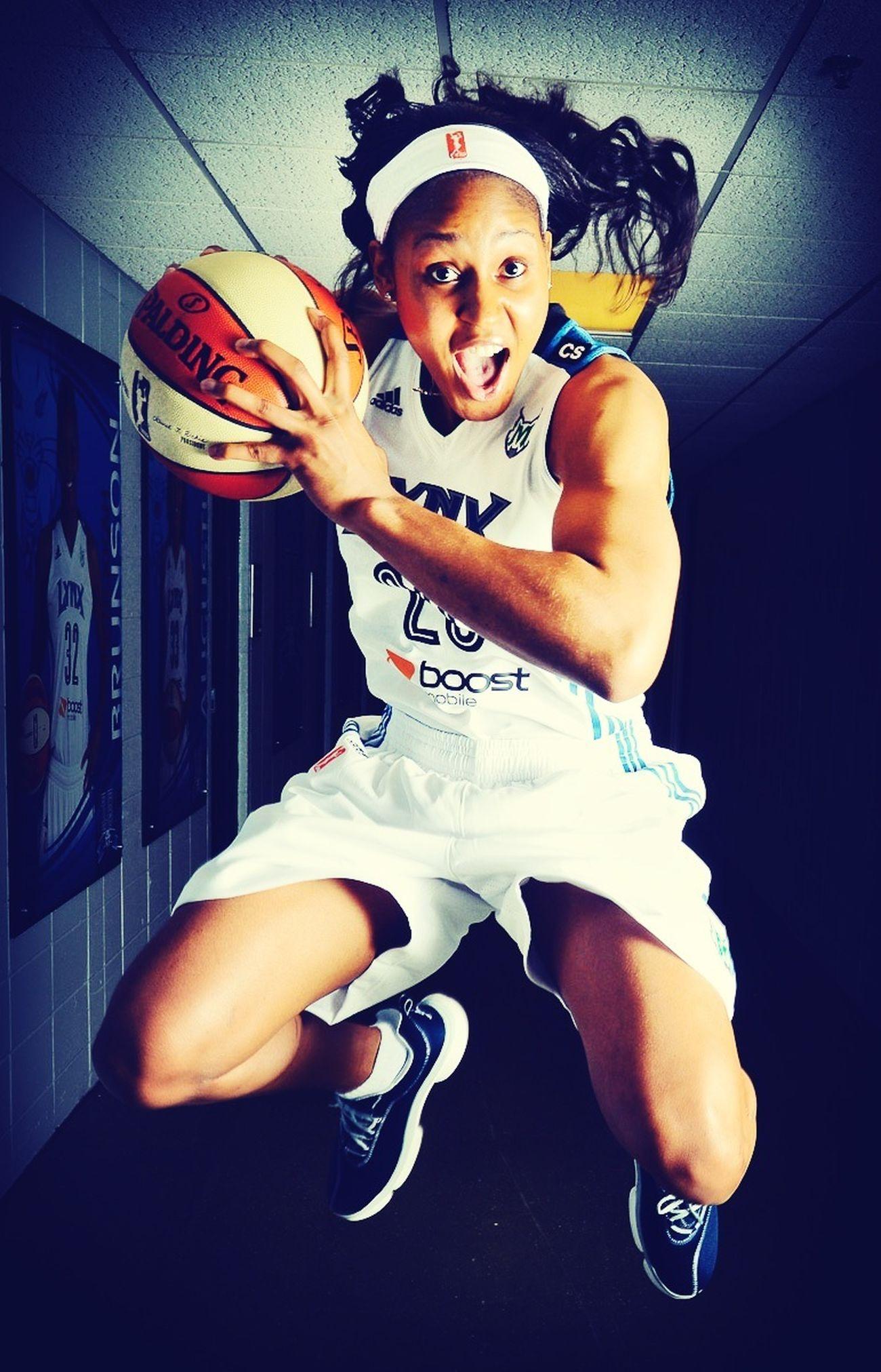 Maya Moore Wnba Basketball Rolemodel