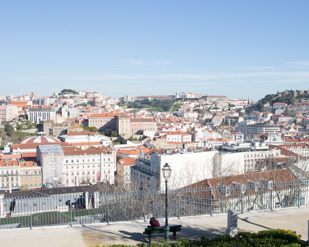 beautiful portugal Architecture Building Exterior Building Terrace City Cityscape Clear Sky Day Outdoors People Sea Sky Travel Destinations Urban Skyline Vacations