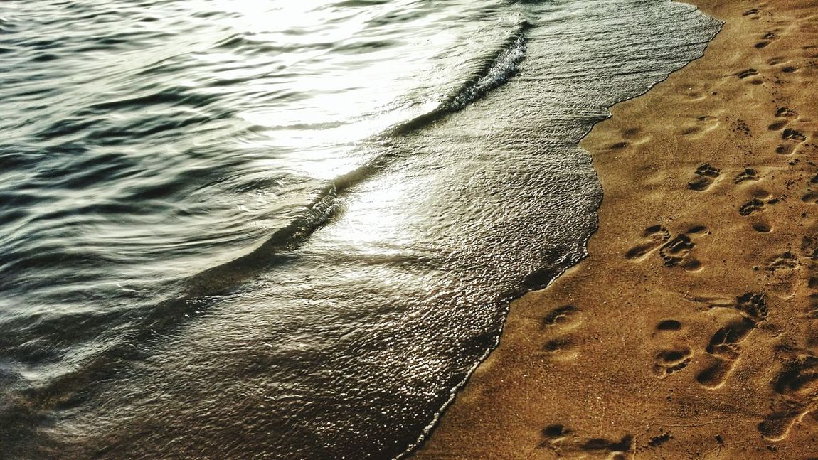 Isoladellecorrenti EyeEm Nature Lover Nature Sicily Sea Footprints Water Reflections Reflection