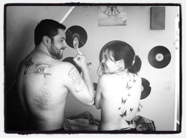 Hermanos tattuados... Love INK...
