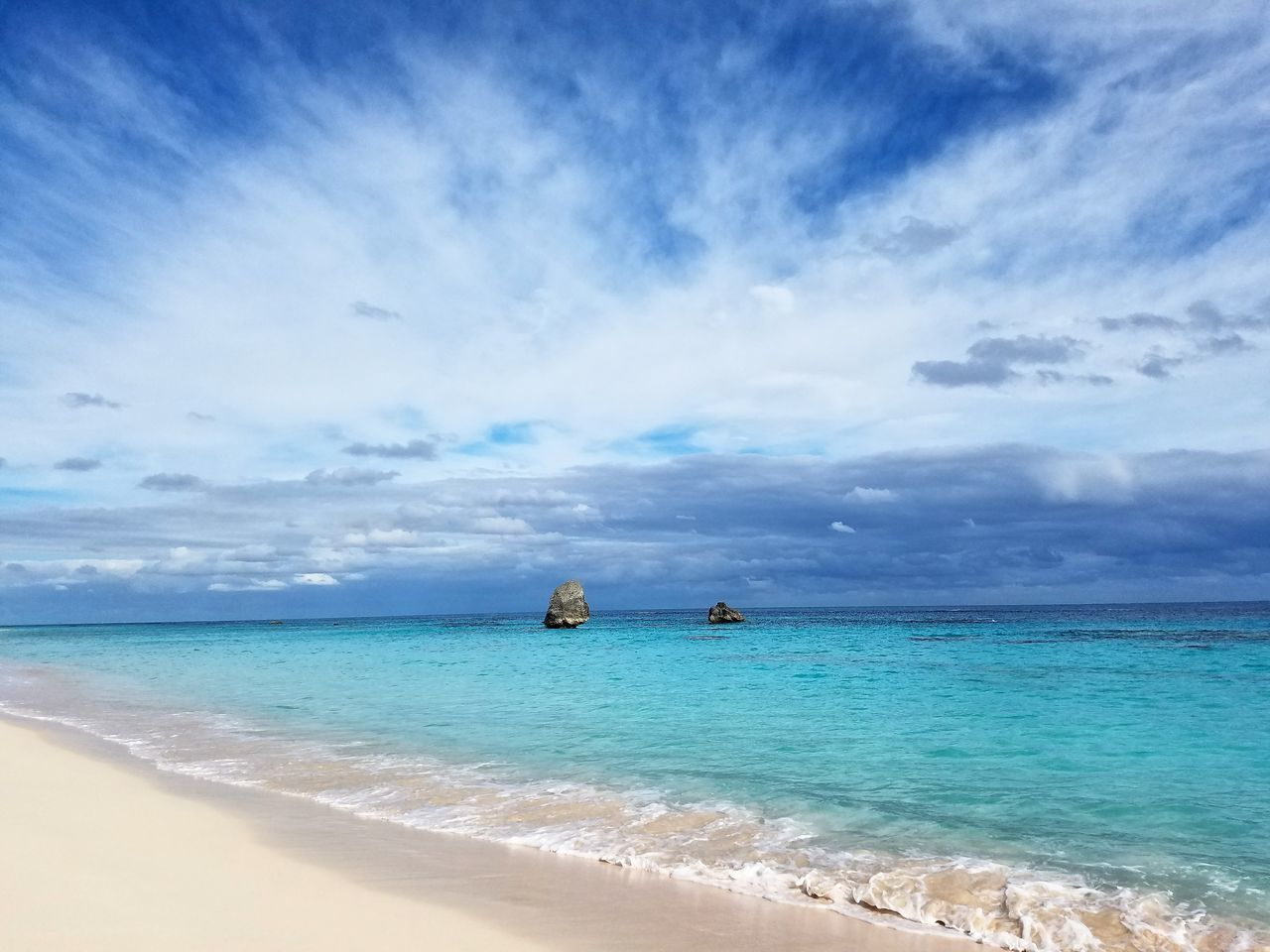 sea, sky, cloud - sky, scenics, water, horizon over water, beauty in nature, beach, nature, tranquility, no people, blue, day, tranquil scene, outdoors, travel destinations, nautical vessel